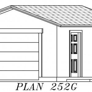 252G Garage Plan