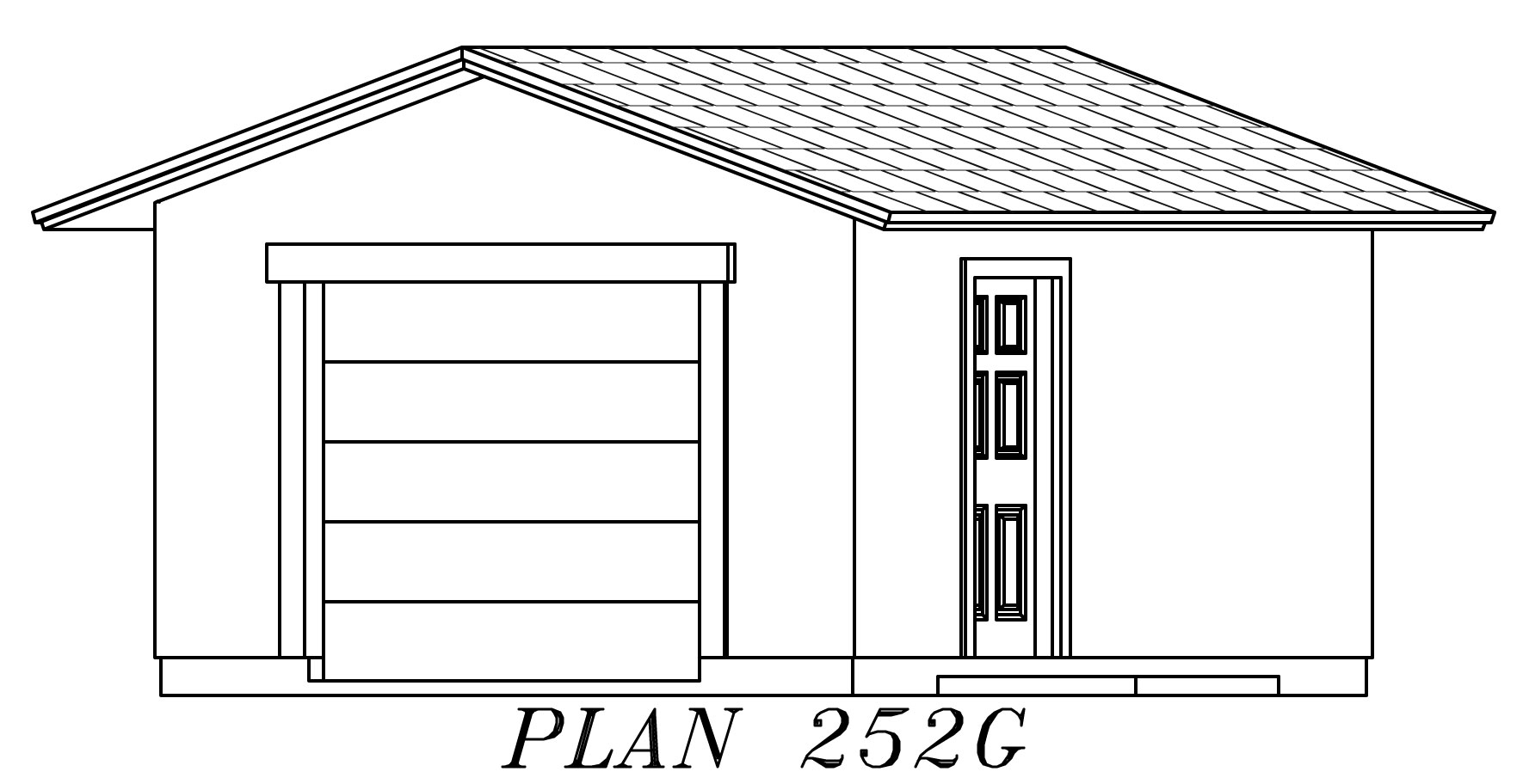 Garage plan stone veneer house plans home designs for Building a brick garage
